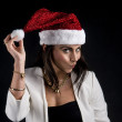 Christmas girl — Stock Photo #25578097