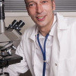 Stock Photo: Friendly researcher
