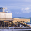 Stock Photo: St Heliers boathouse