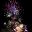 Beautiful fireworks — Foto Stock