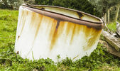 Old septic tank — Stock Photo