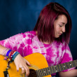 Playing the guitar — Stock Photo #38147555