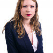 Serious businesswoman — Stock Photo