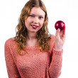My little red apple — Stock Photo