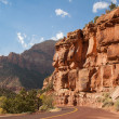 Zion National Park Scenic Drive — Stock Photo