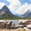Many Glaciers Hotel at Glacier National Park — Stock Photo #25584673