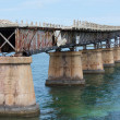The Bahia Honda Rail Bridge  — Stock Photo