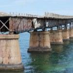 The Bahia Honda Rail Bridge — Stock Photo