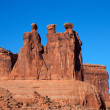 Stock Photo: Watchers at Arches National Park