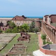 Stock Photo: Inside Fort Jefferson