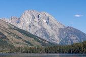 Mt Moran at the Grand Tetons — Stock Photo