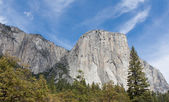 El Capitan and the Wall of Granite — Stock Photo