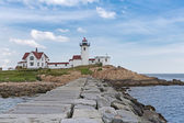 Eastern Point Lighthouse Compound — Stock Photo