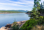 Scenic Cove at Acadia National Park — Stock Photo