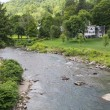 Stock Photo: Meandering Ottauquechee River