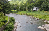 The Meandering Ottauquechee River — Stock Photo