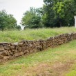 Preserved Section of Wall from the Battle of Fredricksburg — Stock Photo