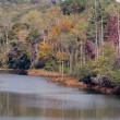 Hiwassee River in Autumn — Stock Photo