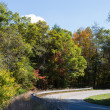 Cherohala Skyway Drive — Stock Photo