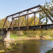 Retired Railroad Bridge — Stock Photo