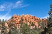 Pillars and Ridges at Red Canyon — Stock Photo