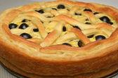 Пирог с сыром — Стоковое фото