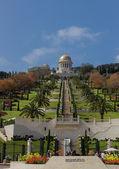 Bahai temple and gardens in Haifa — Stock Photo