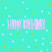 Vector illustration. Happy Birthday — Stock Vector