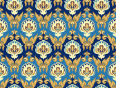 Damaskus seamless pattern — Stock Vector