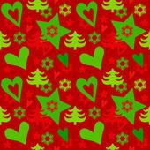 Seamless christmass pattern — Stock Vector