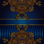 Vector luxury Poster — Stock Vector