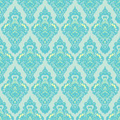 Victorian damask vector seamless pattern — Stock Vector