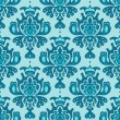 Damask vector seamless pattern — Stockvectorbeeld