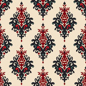 Christmas seamless Deer pattern — Stock Vector