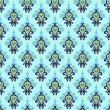 Seamless Damask Pattern Vector — Vector de stock #30953705