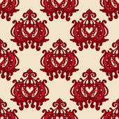Ethnic Seamless Pattern Vector — Stockvektor