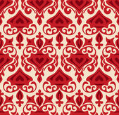 Damask seamless Pattern Vector — Stock Vector
