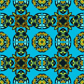Seamless Pattern geometric Vector — Vettoriale Stock