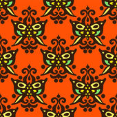 Seamless pattern vector Halloween — Stock Vector
