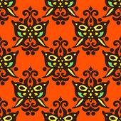 Seamless pattern vector Halloween — Stock Vector