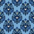 Stockvektor : Seamless royal vector pattern damask