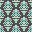Vecteur: Damask Seamless pattern vector design