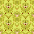 图库矢量图片: Seamless Vector Damask Pattern Wallpaper
