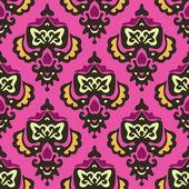 Damask royal vector seamless pattern — Stock Vector