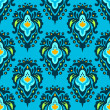 Revival seamless pattern contemporary vector — Stock Vector #34892535