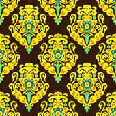 Damask Royal seamless pattern vector — Stock Vector