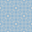 Gift Wrap vector blue texture — Stock Vector