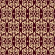 Vecteur: Damask seamless vector pattern luxury background