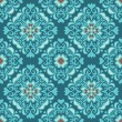 图库矢量图片: Tiles seamless ethnic vector pattern
