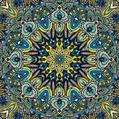 Festive ethnic lace kaleidoscope design — Photo